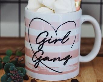 """Mug gift with """"girl's"""" motif"""