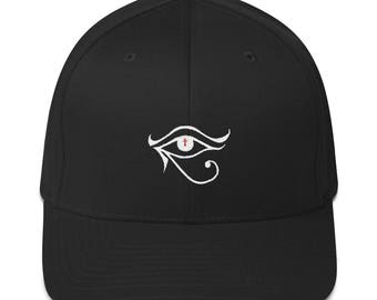 Eye of Horus Structured Twill Cap