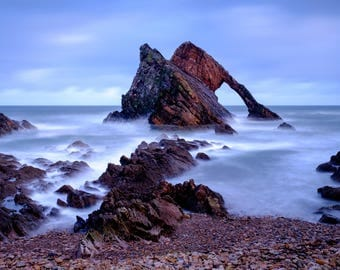 """Bow Fiddle Rock: 5"""" x 7"""" Greeting Card, Blank inside, with envelope"""