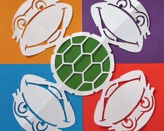 Ninja Turtles snowflake