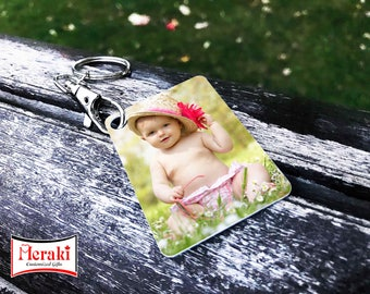 Baby Photo Key chains, Sublimation Key chains, Aluminium photo Key chains