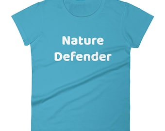 Nature Defender Tshirt Women's short sleeve t-shirt