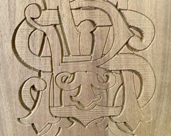 Engraving service on wood