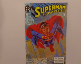 Superman, The Man of Steel Issue 1 (1991)