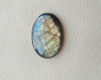 Multi Fire Labradorite Oval Gemstone, Labradorite 01 Pieces Gemstones 88 Carat Weight, Size - 41x30x9 MM Approx. Labradorite Flashy Stone.