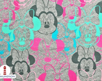 Fabric Jersey Minnie Mouse Disney