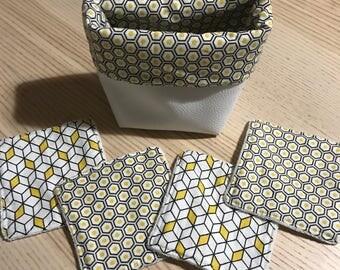 Set of wipes