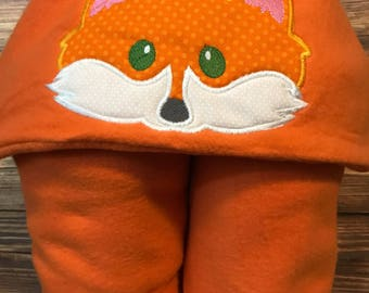 Hooded Fox Blanket