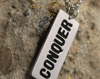 Conquer - Necklace - Stainless Steel
