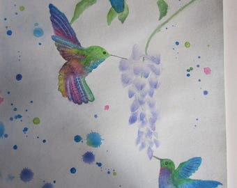 Beautiful hummers