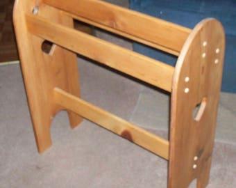 Quilt rack   Etsy : wood quilt rack - Adamdwight.com