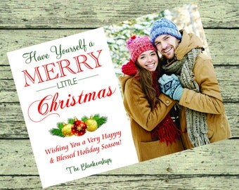 Merry Little Christmas Christmas Card