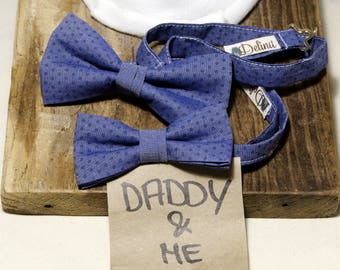 Papillon Papà-bimbo Bowtie Daddy&Son