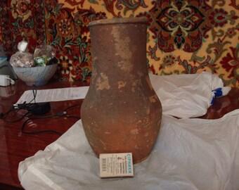 Ceramic jug. Very old.
