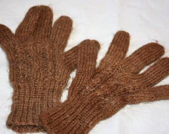 Alpaca Gloves Hand Embroidered glove Gloves