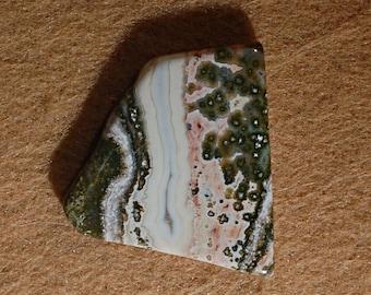 Free Form Ocean Jasper  Tumble Polished Cabochon