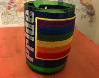 Pride Rainbow Hand-Poured Soy Wax Candle