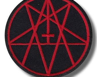 Antichrist - embroidered patch 8x8 cm