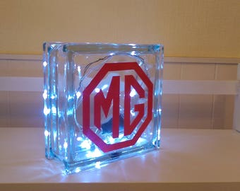 Glass Block Lights.