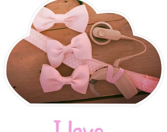 Headband I love Pink