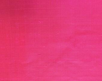 Thai silk in bright pink