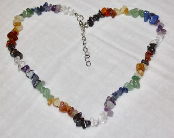 7 Chakra Stone Necklace