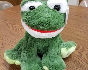 Plush Frog Toy