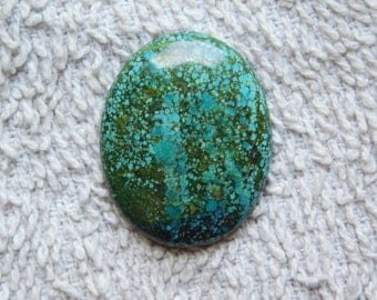 Awesome Tibetan Turquoise loose gemstone Excellent cabochons gemstone 100%natural gemstone smooth polish handmade 25.15cts (30x24x4)mm