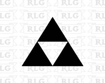 Zelda Triforce Decal