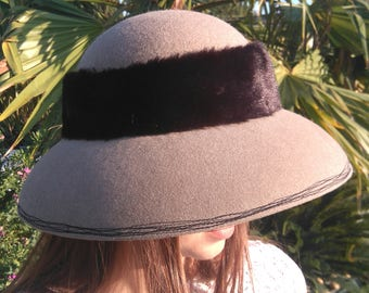 "Cloche Hat - pattern ""Nicolà"""