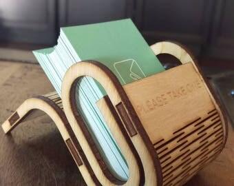 Lasercut Business Card Holder
