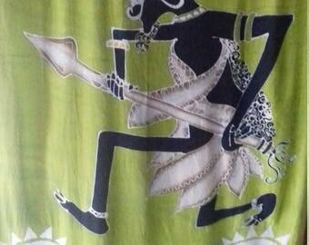 batik warrior sarong