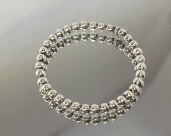 stacking beaded ring