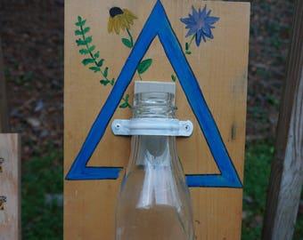 Triangle Flower Wallflower Vase