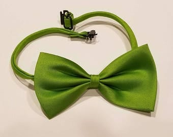 Lime Green Bow Tie for dog or cat