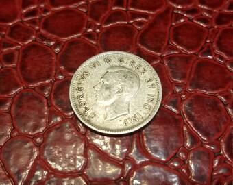 Fine 1939 Canada Silver Dime