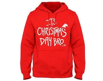 Jake Paul Its Christmas Day Bro  Youth hoodie. 100% COTTON. Jake Paul Merch
