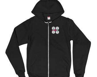 Ugly Pink Lion Hoodie Jacket