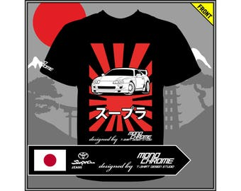T-shirt Toyota Supra JZA80