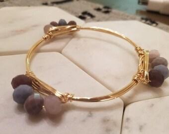 """The """"Purple Haze"""" bracelet"""
