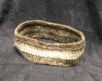 Headband Made From Dog Hair
