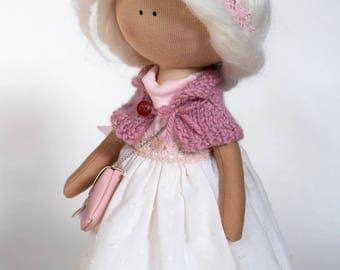 Handmade Interior Textile Doll