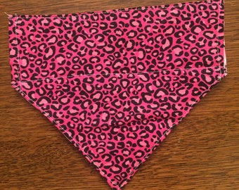 Cheetah print bandana