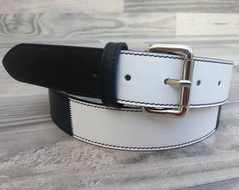 100% genuine Leather belt. Unisex. Juventus. Genuine Leather Belt