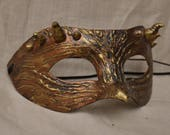 Bronze Horned Mask