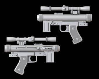 Star Wars and Rogue one SR-14 Blaster 3D file