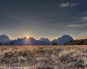 Landscape Photo, Grand Teton National Park