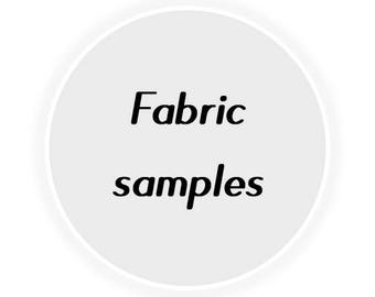 Fabric samples, swatches