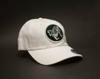 White 152nd dad hat