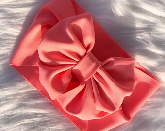JAZELYN coral bow